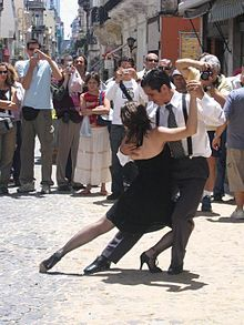 argentine tango - not ballroom, not sparkles.  the real, authentic one where they close eyes, rub legs into legs, and kiss