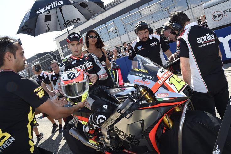 #aprilia #bearacer #AragonGP #motoGP #bike #motogp2015 #aragon #bradl #bautista