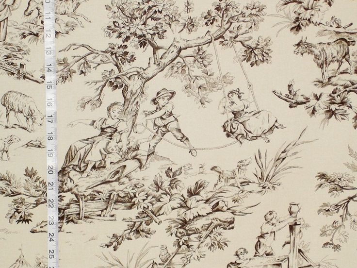 58 best images about toile de jouy fabric on pinterest for French toile fabric