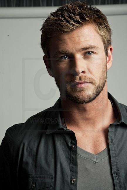 Chris Hemsworth as Sargeant Jordan Stone in Blood Gospel by James Rollins.