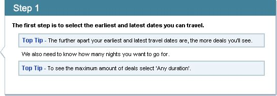Late deals - holidays in the next 6 weeks
