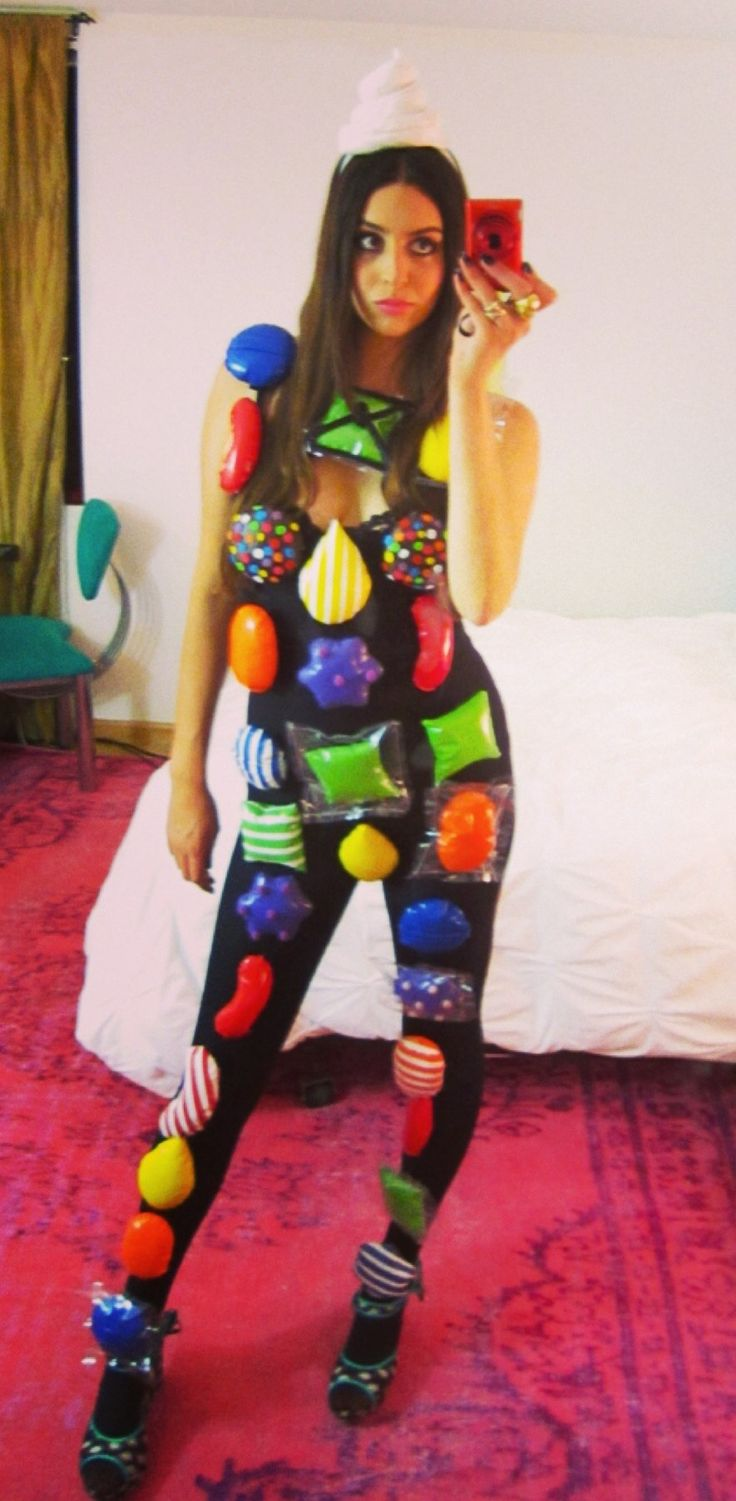 candy crush costume