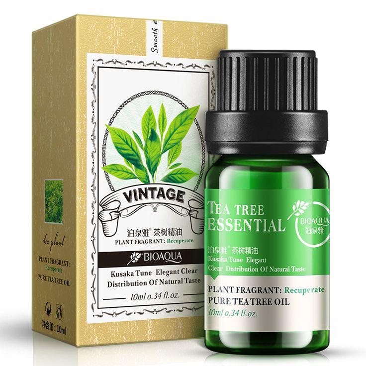 Boom Thee Olie Voor Acne Litteken Verwijdering Cystic Acne Behandeling mee-eter Verwijderen Pore Strips voor Huidverzorging Puistjes Essentiële Olie 10 ml