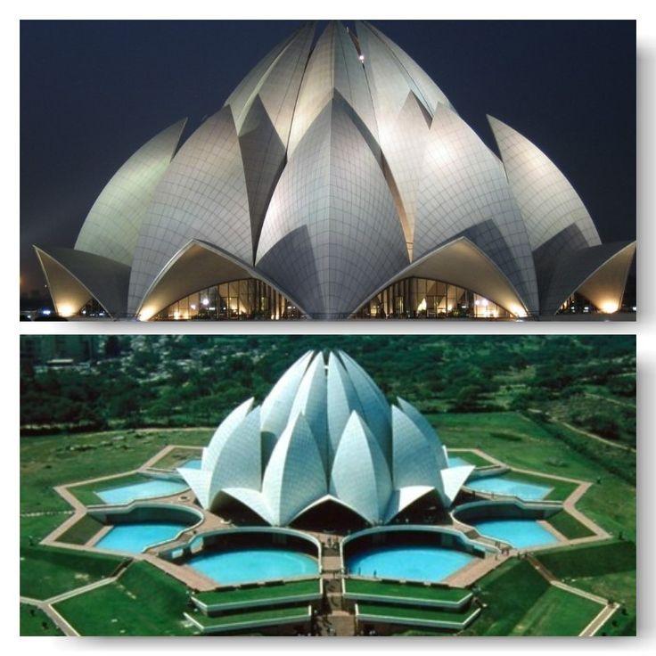 lotus temple. Delhi-India