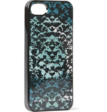 Marc by Marc Jacobs Snake-Print iPhone 5 Cover | MR PORTER