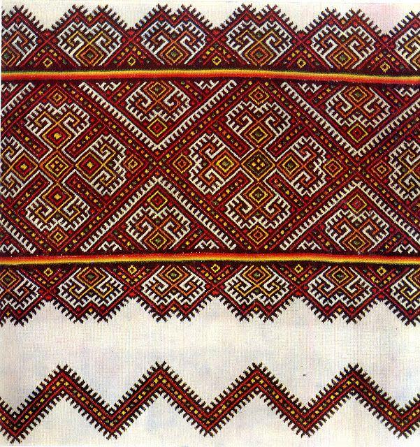 FolkCostume&Embroidery: Nyzynka embroidery of western Ukraine                     Pisanki inspiration