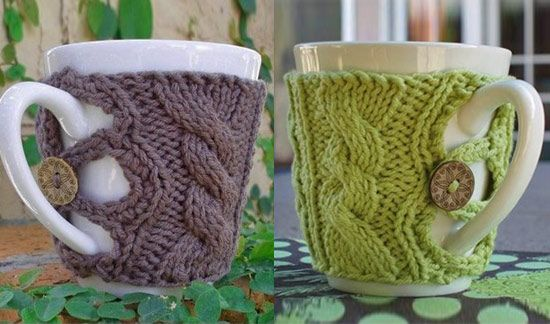 I believe that you must be wearing a woolen cap if you dare to use these cup warmers!