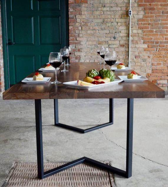 33 Elegant As Well As Elegant Kitchen Area Tables Dining Table Legs Walnut Table Dining Table Design