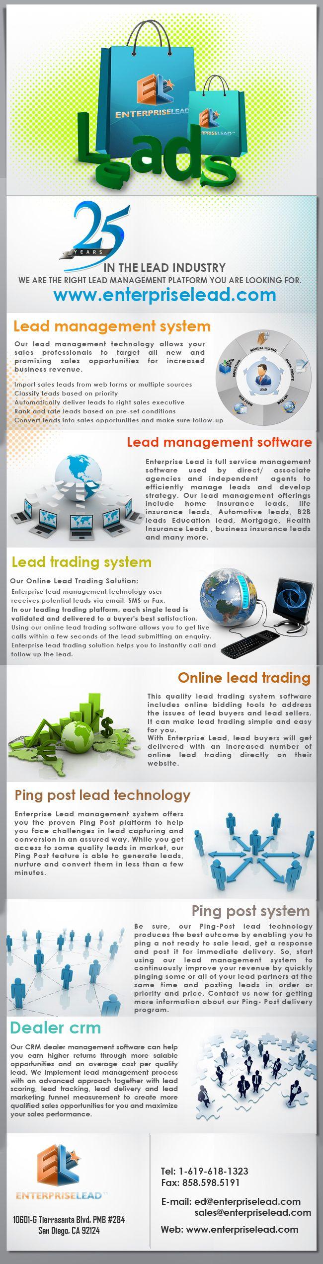 23 best Lead Trading Platform images on Pinterest   Lead management ...