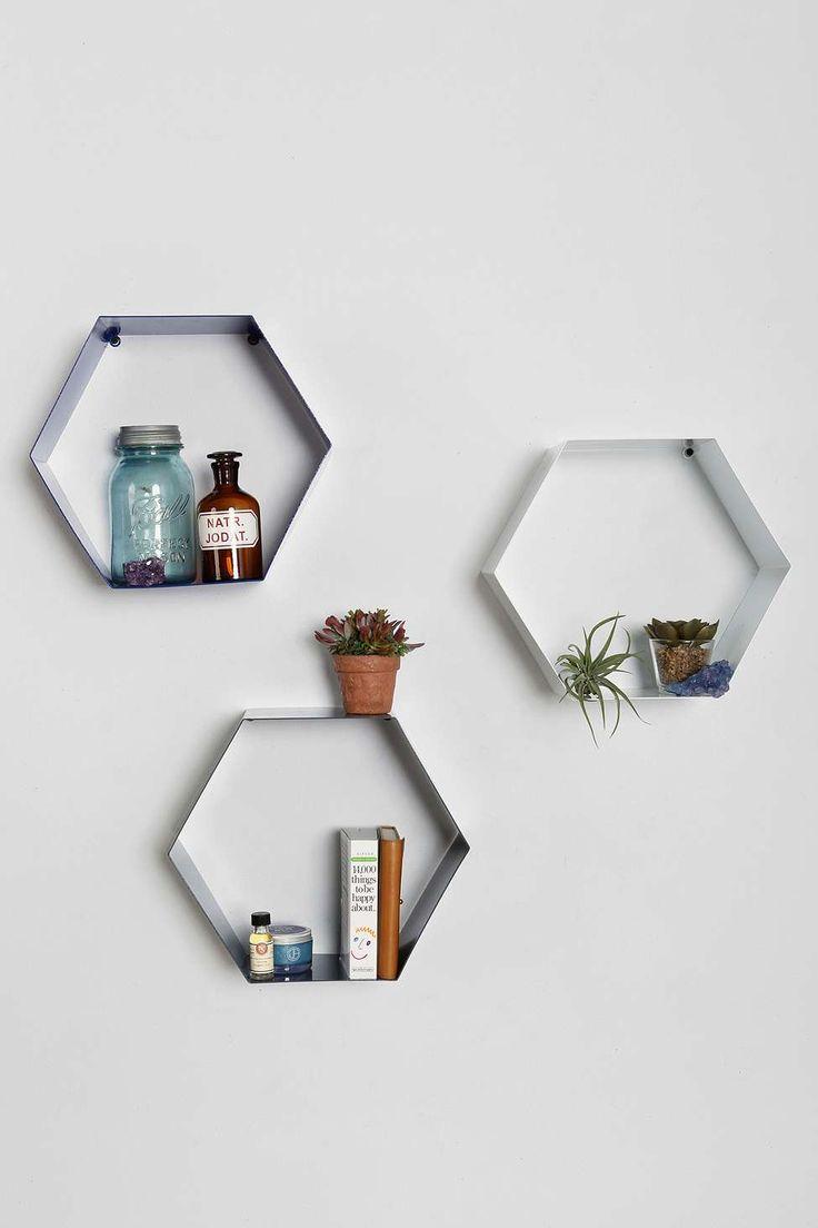 Les 25 meilleures id es de la cat gorie etagere hexagonale for Chambre urban outfitters