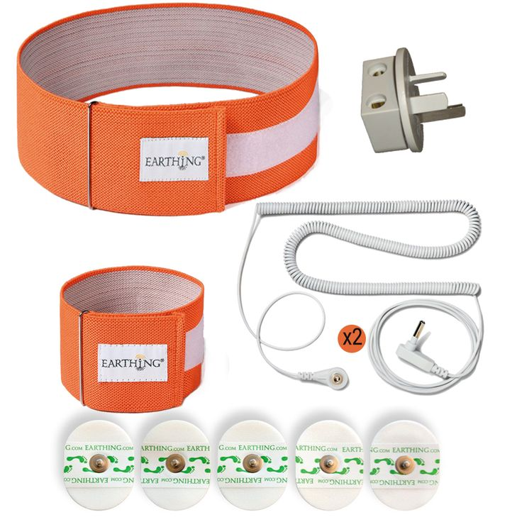 New Earthing Body band and patches kit