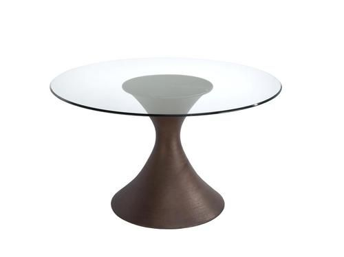 Brownstone Casablanca 54 Inch Glass Top Table