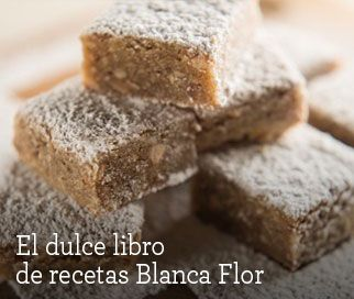 Receta de Brownies rubios