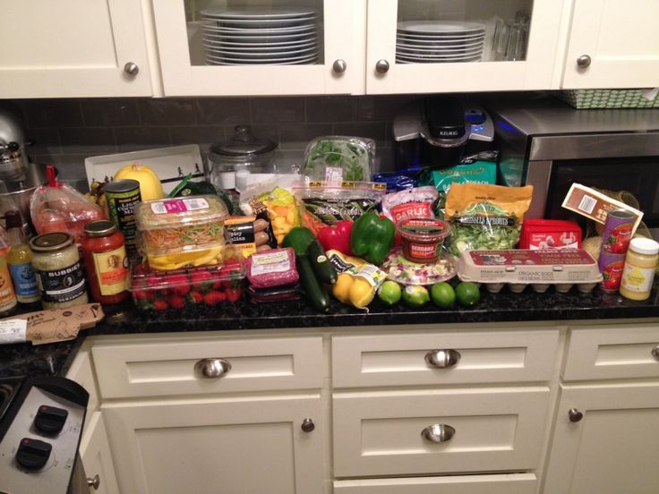 Whole 30 shopping list: Costco, Trader Joe's, Whole Foods, Central Market... via Heather Bakes