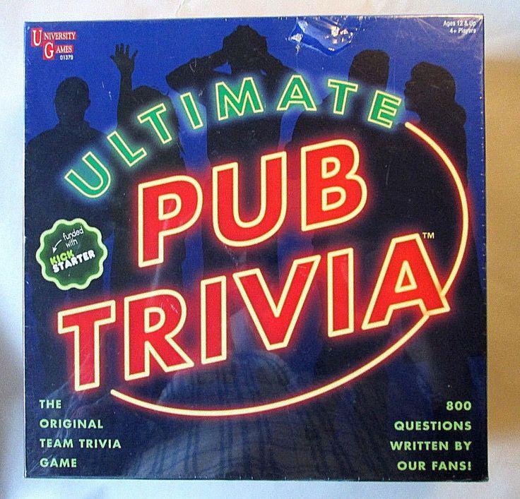 #New #Ultimate #Pub #Trivia #BoardGame #University #Games #Party #UniversityGames #gamenight #familyfun #entertainment