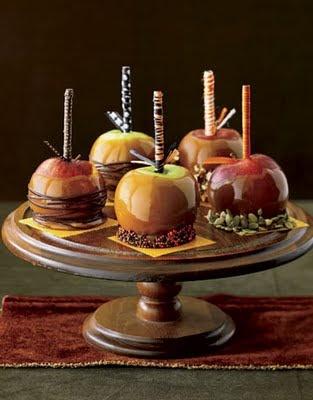 Fall Craft Ideas for Adults | Halloween Caramel Apples Ideas