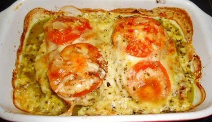 Pesto Kip Met Ham En Kaas Uit Oven recept | Smulweb.nl