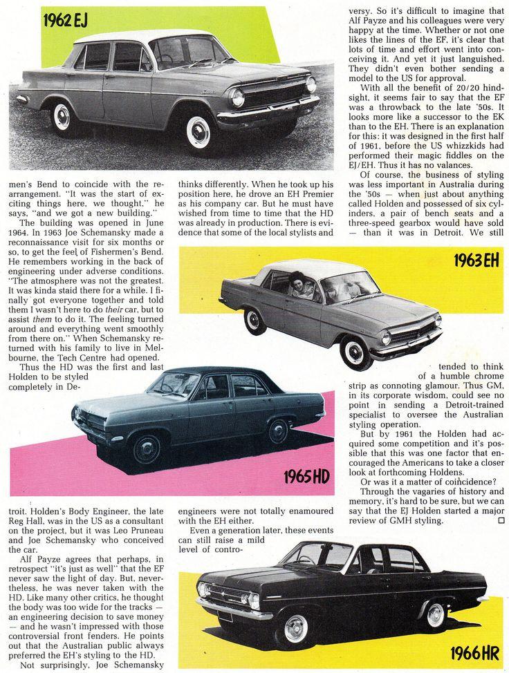 https://flic.kr/p/24q5p97 | 1986 196? EF Holden Story Page 4 Aussie Original Magazine Advertisment