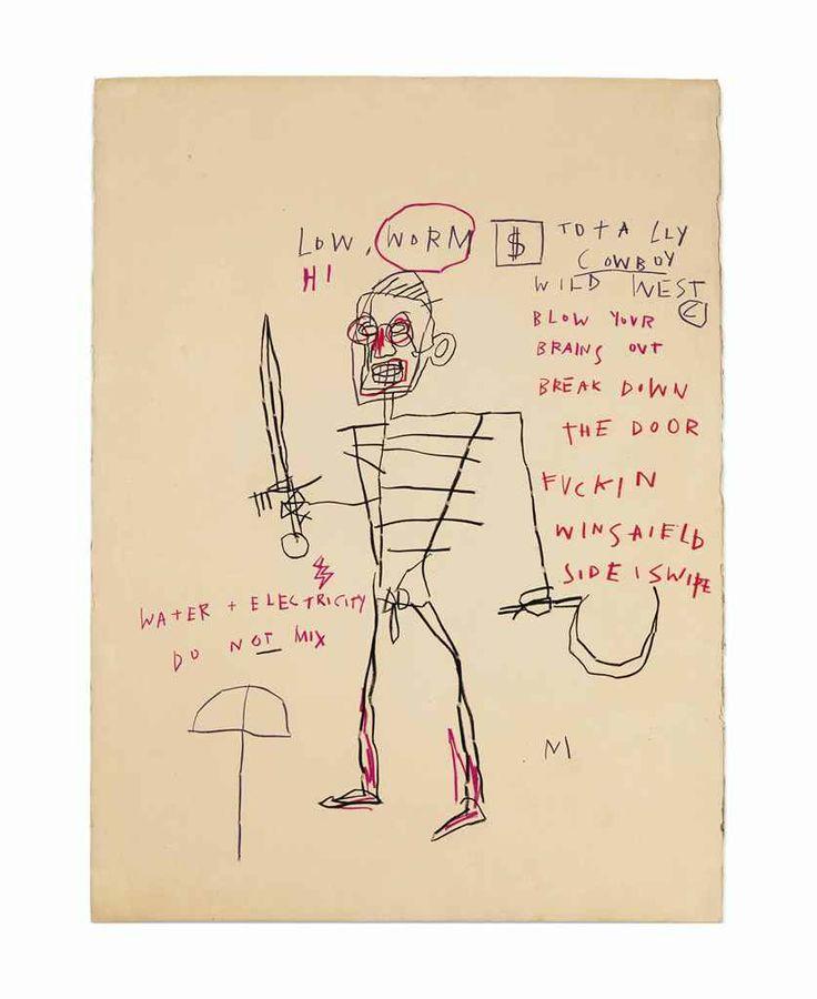 Jean-Michel Basquiat (1960-1988)  Untitled (Rome)