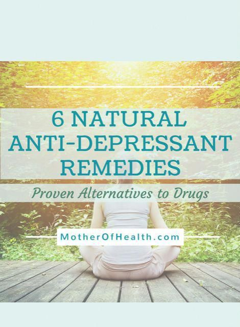 natural anti depression remedies