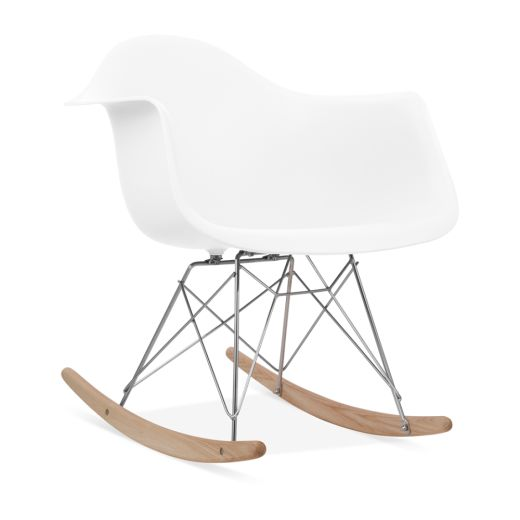 charles eames style white rar rocker chair modern chairs cult uk how to hairstyles pinterest chair eames and furniture