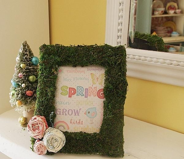 how to make easy picture frames at home