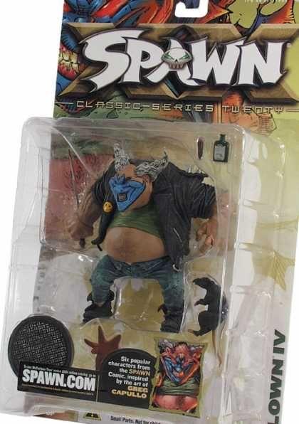 Action Figure Boxes - Spawn Clown IV