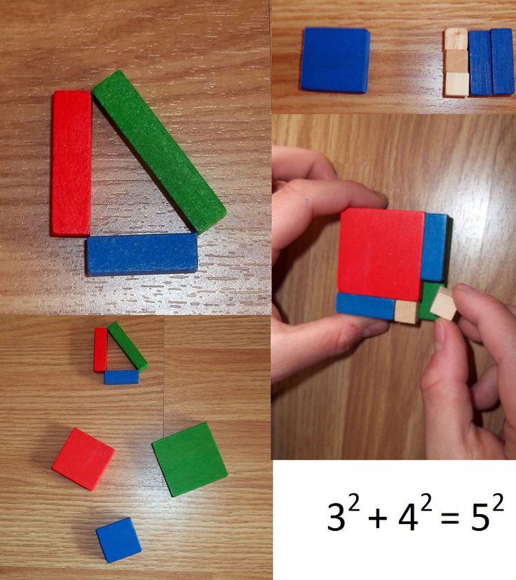 Demostrando el teorema de Pitágoras