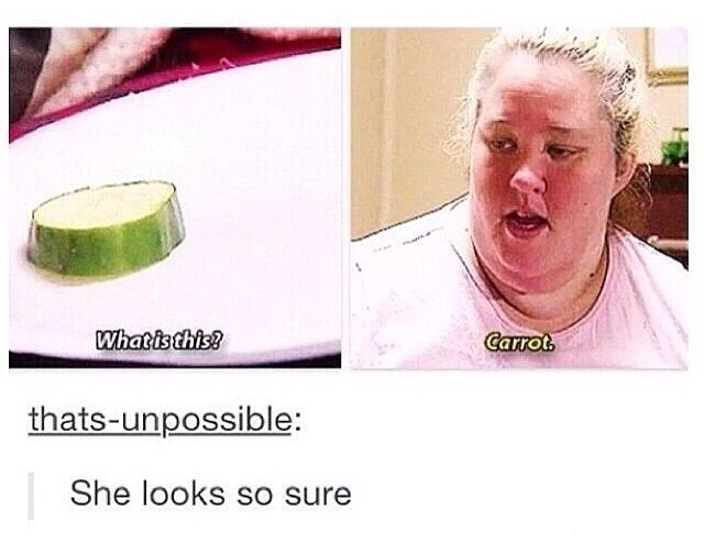 Mama June knows food