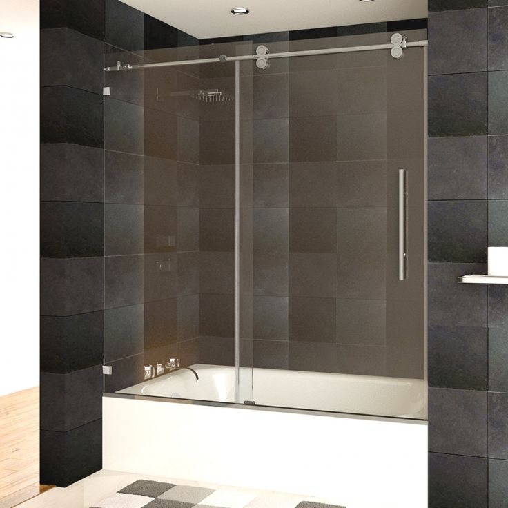 68 Best Shower Doors Images On Pinterest Chrome Finish