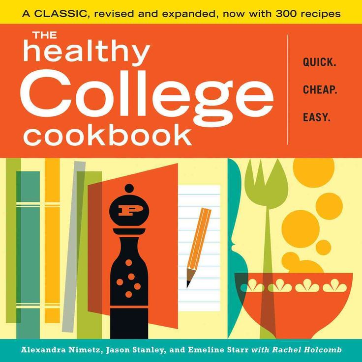 For nearly a decade, The Healthy College Cookbook has offered time-pressed, budget-crunched students a simple way to enjoy home cooking in their own small apartment kitchens or even dorm rooms. Writte