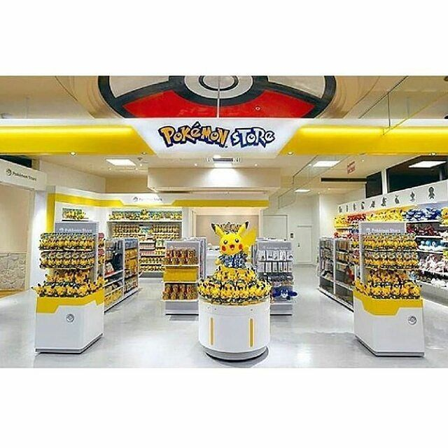 What If You Were Naturally Walking In A Mall And Suddenly Wild Pokemon Stores Appears
