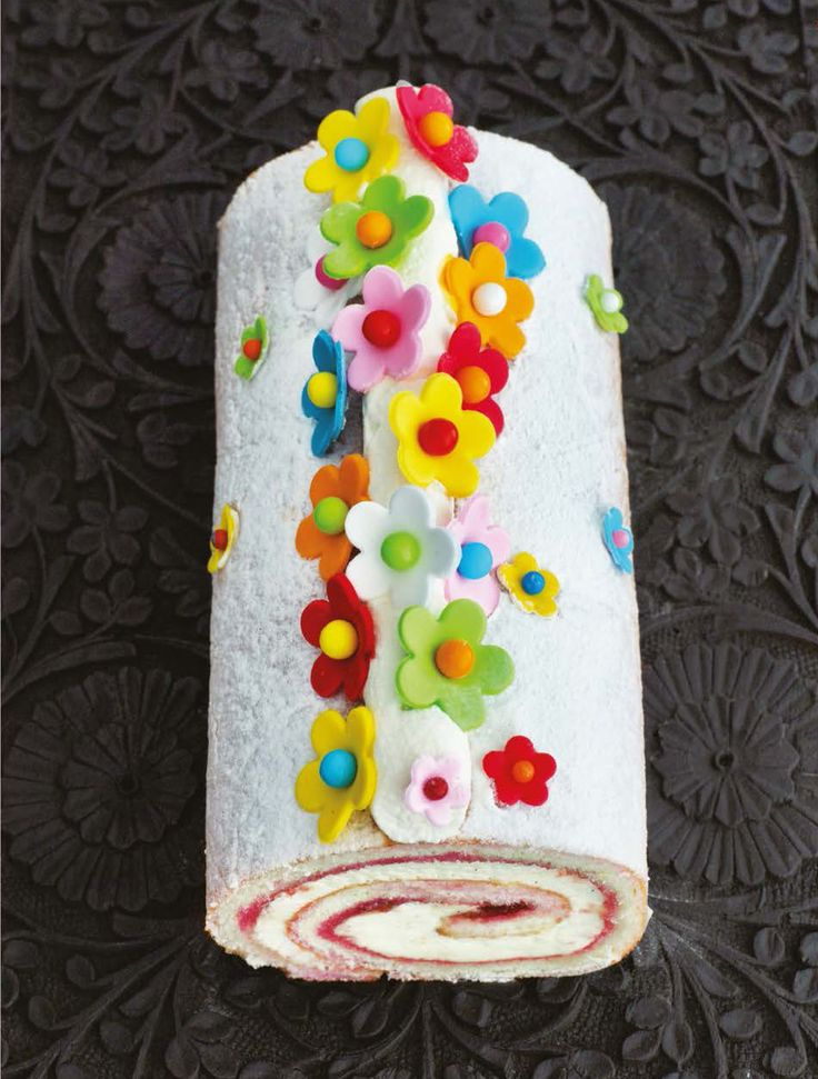 Swiss roll recipe from 80 Cakes Around the World by Claire Clark | Cooked