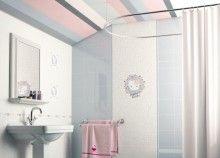 Ideas para baños infantiles Pisos y azulejos Hello Kitty