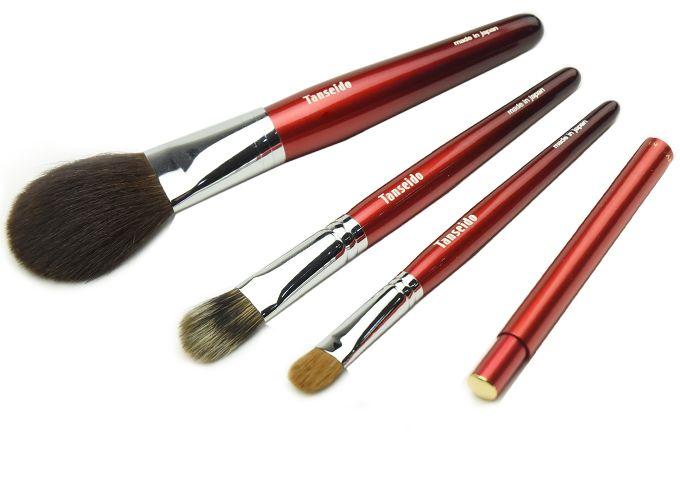 グラデーションセット - 熊野筆・メイクブラシ・化粧筆の丹精堂オンラインショップ:ファンデーションブラシ、フェイスブラシなど多数販売