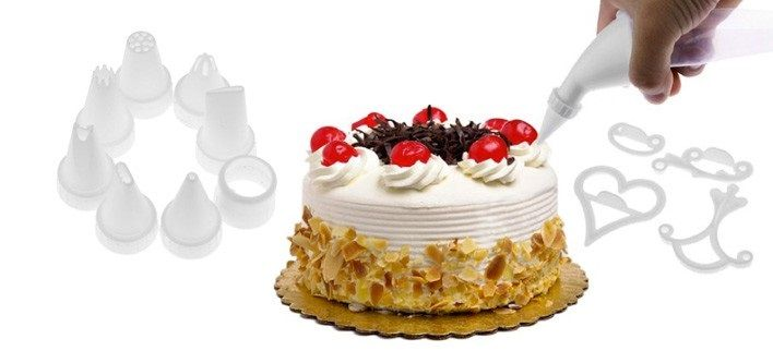 $15 for a 100 Piece Cake Decorating Kit ($60 Value)