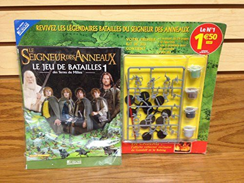 Strategy Battle Game LOTR Lord of the Rings French Games Workshop 12 Mini Figures w/ paint @ niftywarehouse.com