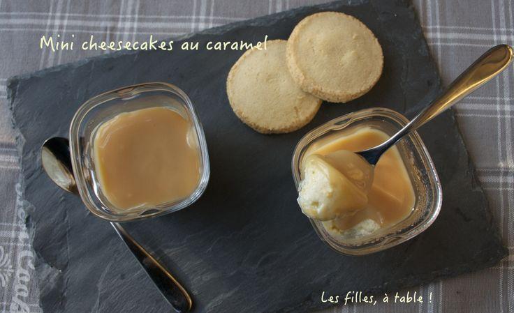 Mini cheesecakes au caramel au beurre salé à la Multi Délices