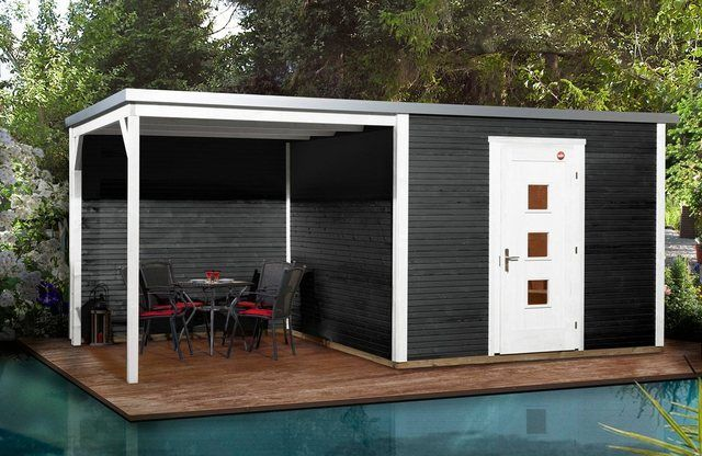 Weka Gartenhaus Wekaline 413b Gr 2 Bxt 610x310 Cm Set Online Kaufen Otto Minimalistisches Hausdesign Design Fur Zuhause Weka Gartenhaus