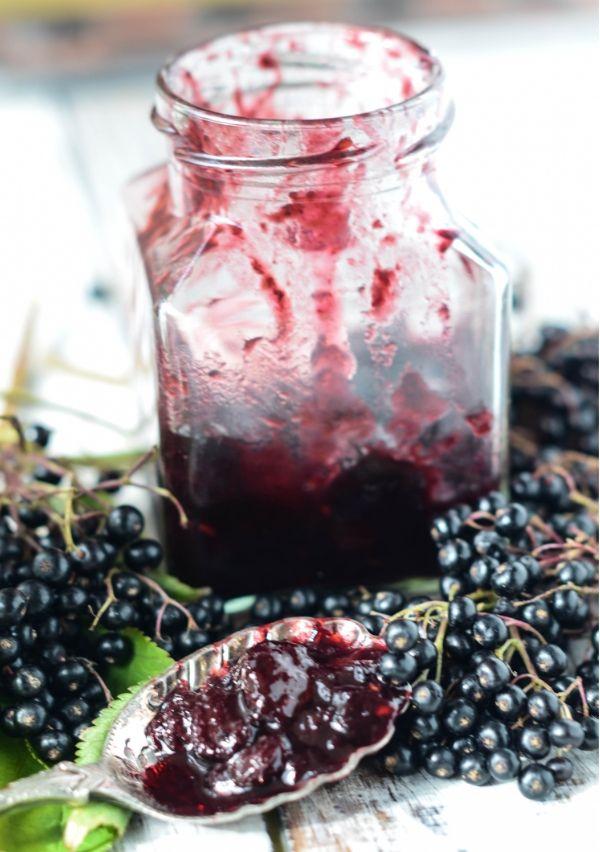 elderberry chutney - Larder Love