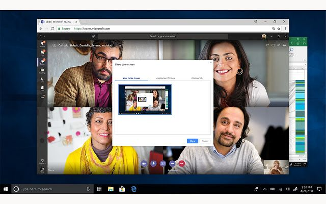 How To Enable Screen Sharing In Microsoft Teams Meeting Latest Gadgets Microsoft Meet The Team