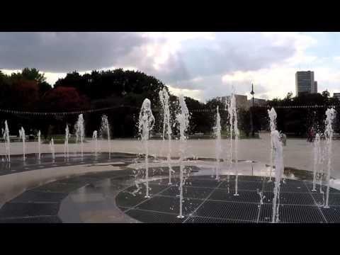 Сиреневый сад, осень 2015, фонтан