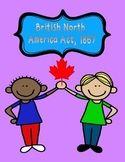 History: Grade 6, 7, 8 (junior high) British North America