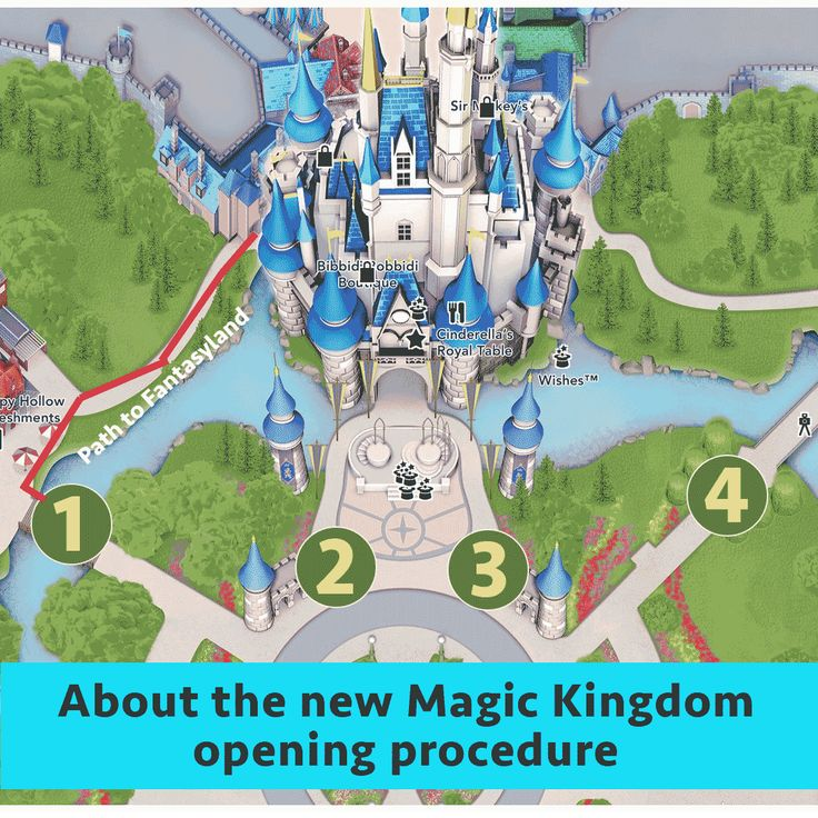 About the new Magic Kingdom opening procedure | Let the Magic Begin | Walt Disney World