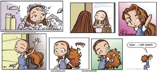 The Boondocks Comic Strip #104  Jazmine DuBois & Her Hair