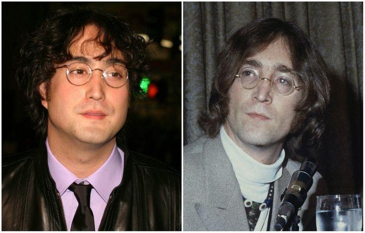 Шон Леннон и Джон Леннон  10знаменитостей, которые похожи народителей как две капли воды