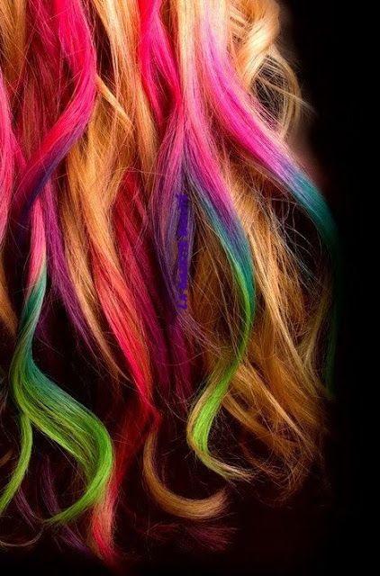 """La Gazette Beauté: Hair Chalk de l'Oréal, coloration temporaire ou """"c..."""