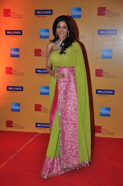 Sridevi-Love the saree