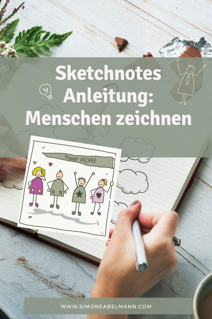 Menschen zeichnen kann so einfach sein! Mit dieser…