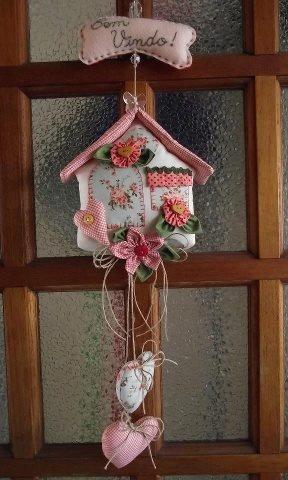 .Casinha de passarinho decorada